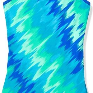 Nike  Big Girls' Crossback One Piece Swimsuit 10